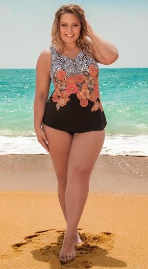 Слитный купальник-платье BAHAMA 500286