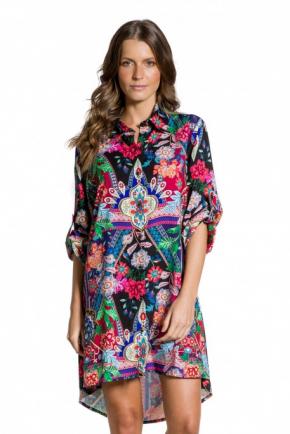Пляжная рубашка Maryssil - LUX PRINTED