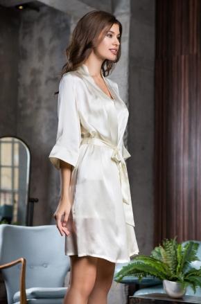 Халат кимоно ROSEMARY 100% шелк, 4 цвета