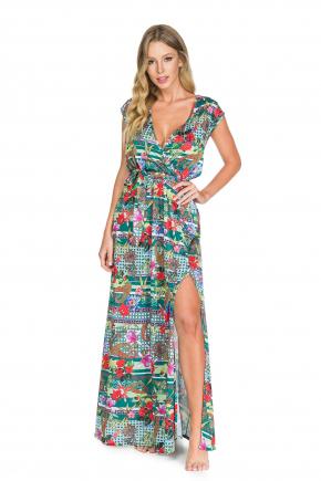 Пляжное платье макси Maryssil - LUX FOREST