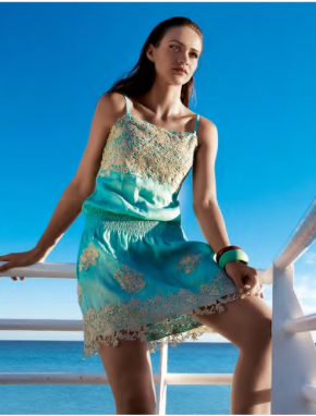 Пляжная юбка Vacanze - CHARMING, 100% лён