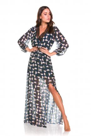 Пляжная туника-платье макси Maryssil - ROUND