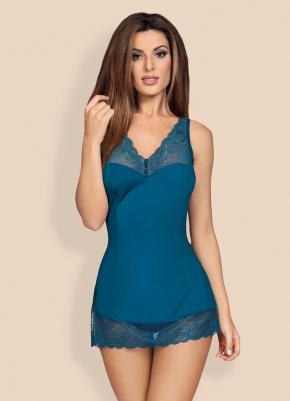 Сорочка мини MIAMOR + стринги, 3 цвета
