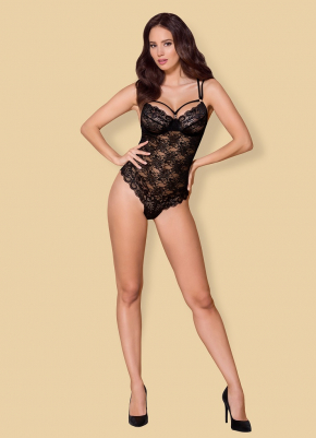 Боди бразилиана Obsessive - 860 TEDDY Black