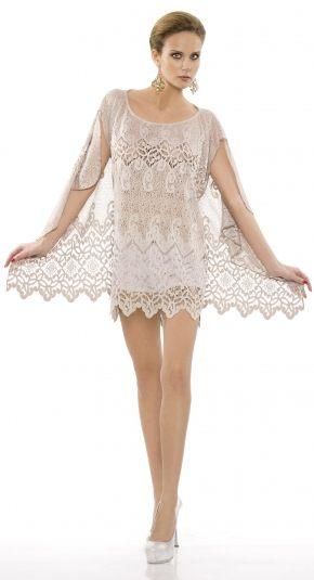 Пляжное платье-туника Rebecca  - Beachwear