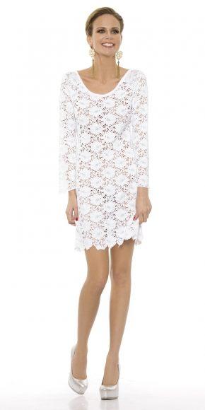 Платье ажурное Rebecca - BEACH, black