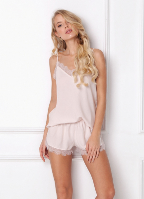 Пижама с шортами Aruelle - DANNY PINK
