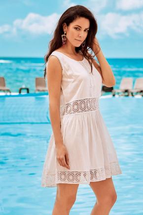 Пляжное платье-сарафан мини DAVID