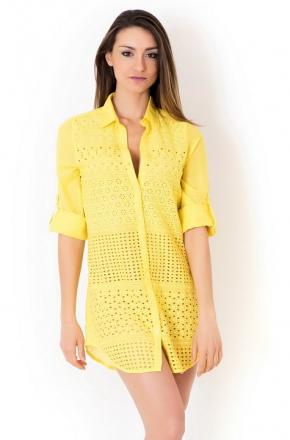 Пляжная блуза ICONIQUE - Shiny, 100% хлопок