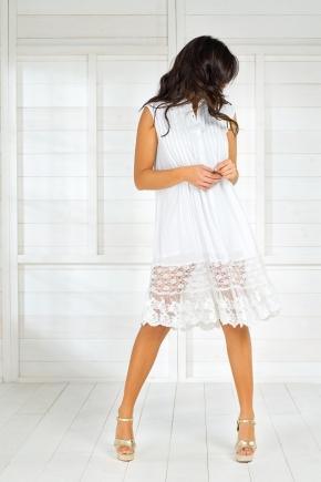 Пляжная туника-платье с сеткой Iconique, 100% хлопок