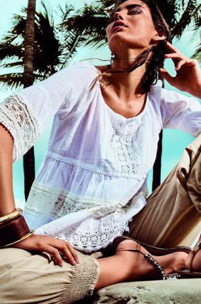 Пляжная блуза Iconique - LACE Lux , 100% хлопок