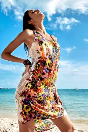 Пляжное платье ICONIQUE - Flora, 100% модал