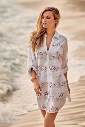 Пляжная блуза ICONIQUE Resort #6, 100% хлопок