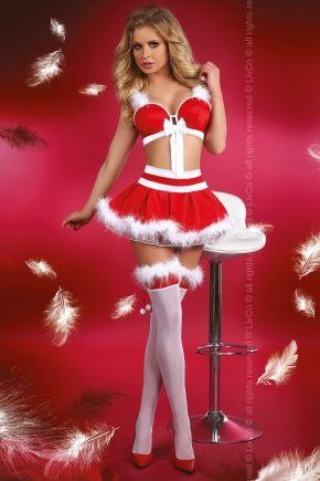 Новогодний костюм LivCo MISS CHRISTMAS