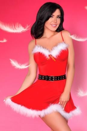 Платье Санты LivCo - CHRISTMAS + трусики