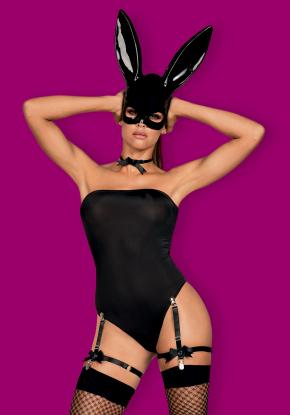 Игровой костюм Кролик - BUNNY BLACK by Obsessive